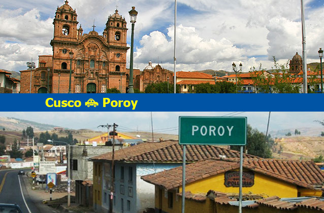 Cusco para Poroy Transportation