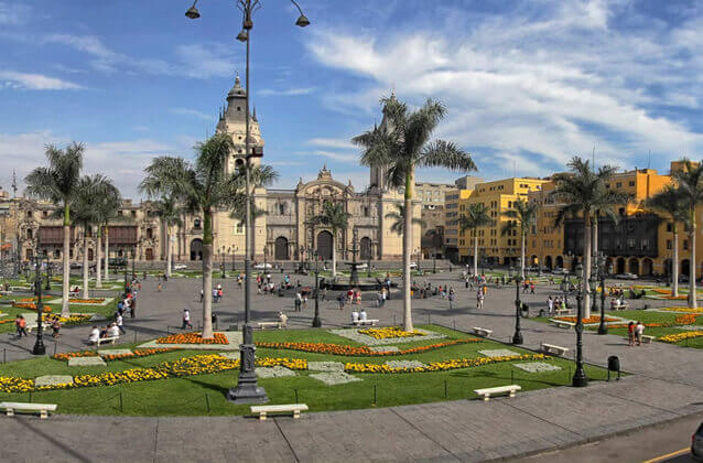 Lima city tour from airport