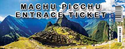 Machu Picchu tickets: official availability